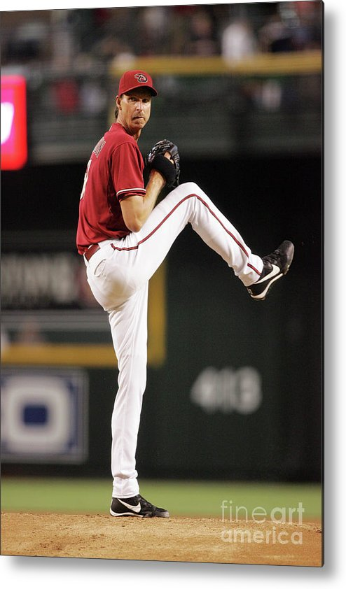 People Metal Print featuring the photograph Randy Johnson by Nick Doan