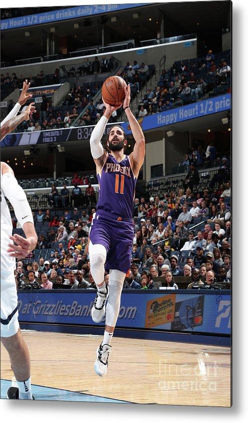 Nba Pro Basketball Metal Print featuring the photograph Ricky Rubio by Joe Murphy