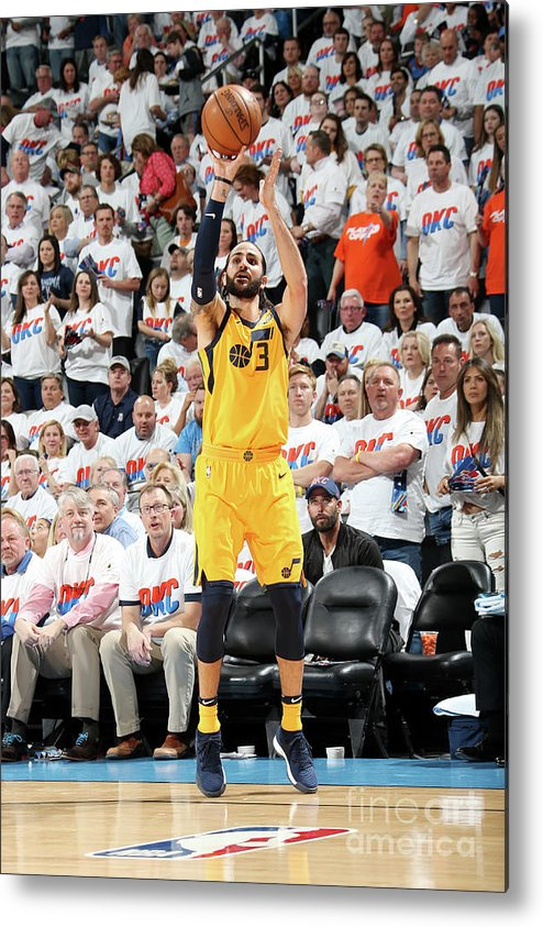 Playoffs Metal Print featuring the photograph Ricky Rubio by Layne Murdoch