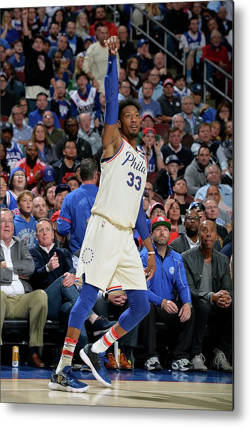 Playoffs Metal Print featuring the photograph Robert Covington by David Dow
