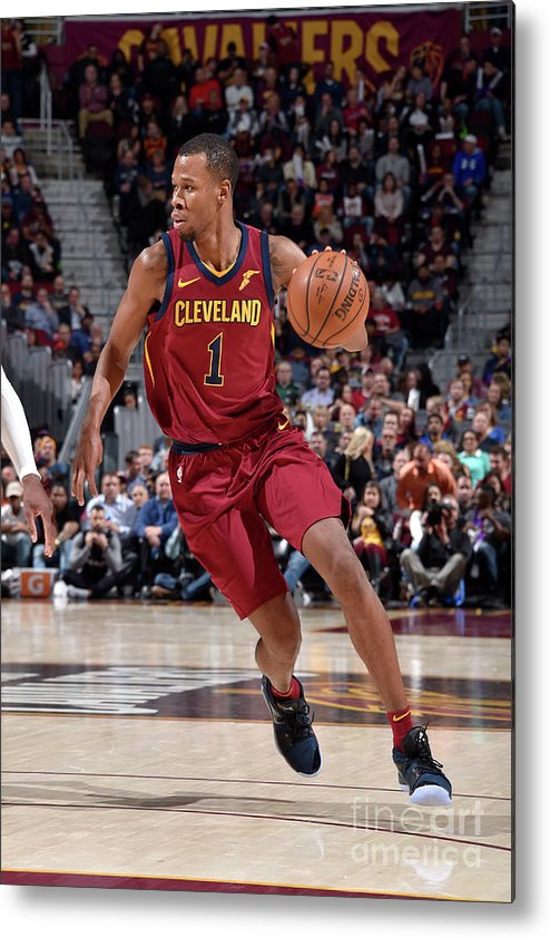 Nba Pro Basketball Metal Print featuring the photograph Rodney Hood by David Liam Kyle