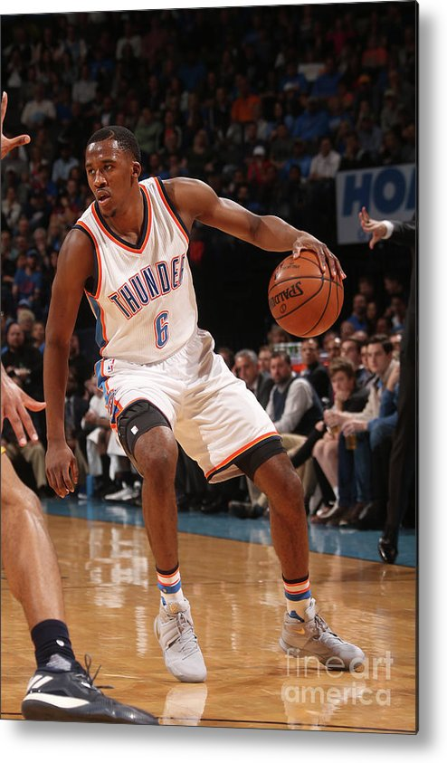 Nba Pro Basketball Metal Print featuring the photograph Semaj Christon by Layne Murdoch