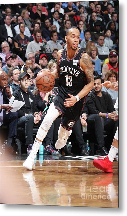 Nba Pro Basketball Metal Print featuring the photograph Shabazz Napier by Nathaniel S. Butler