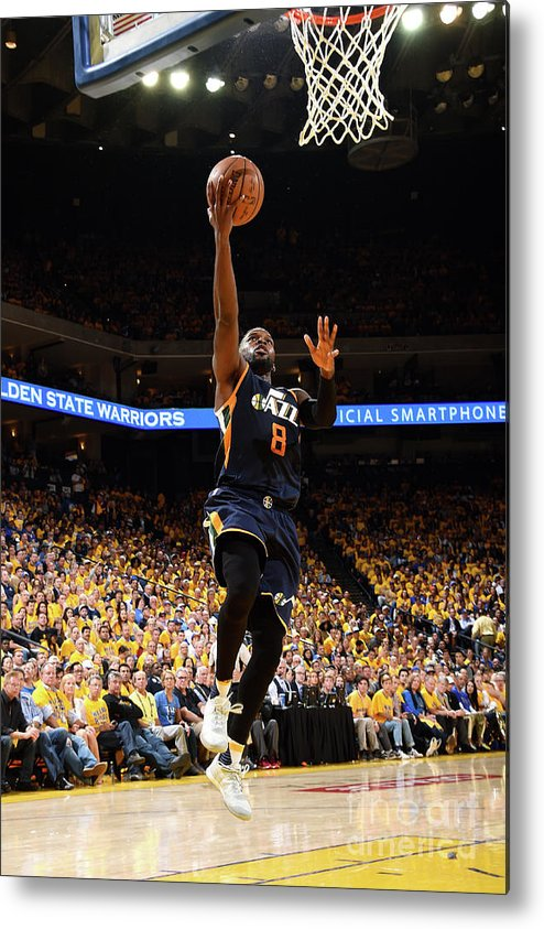 Playoffs Metal Print featuring the photograph Shelvin Mack by Andrew D. Bernstein