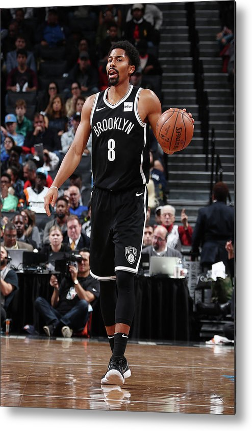 Sport Metal Print featuring the photograph Spencer Dinwiddie by Nathaniel S. Butler
