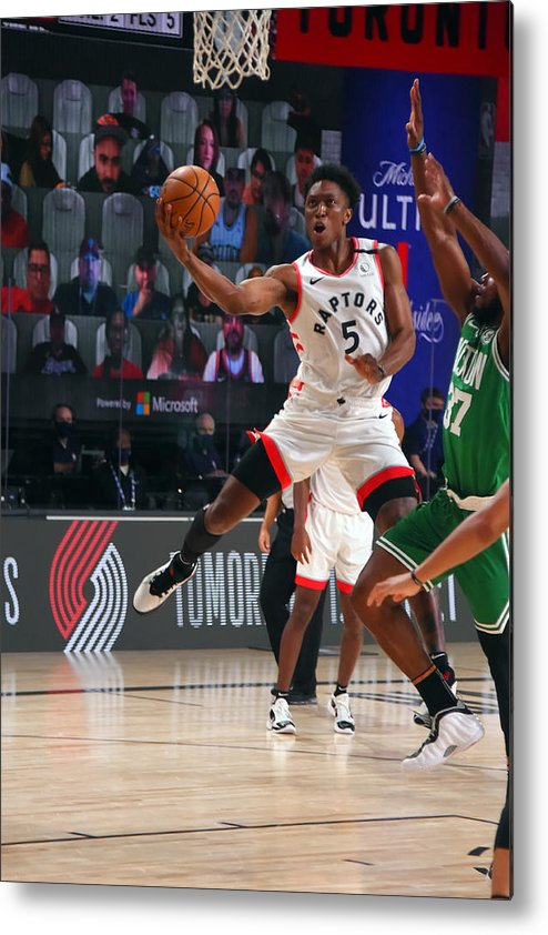 Nba Pro Basketball Metal Print featuring the photograph Stanley Johnson by Bill Baptist