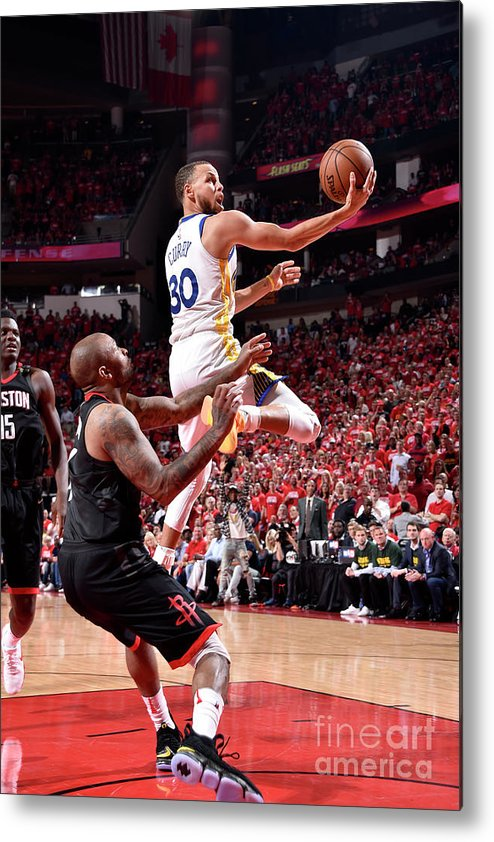 Playoffs Metal Print featuring the photograph Stephen Curry by Bill Baptist
