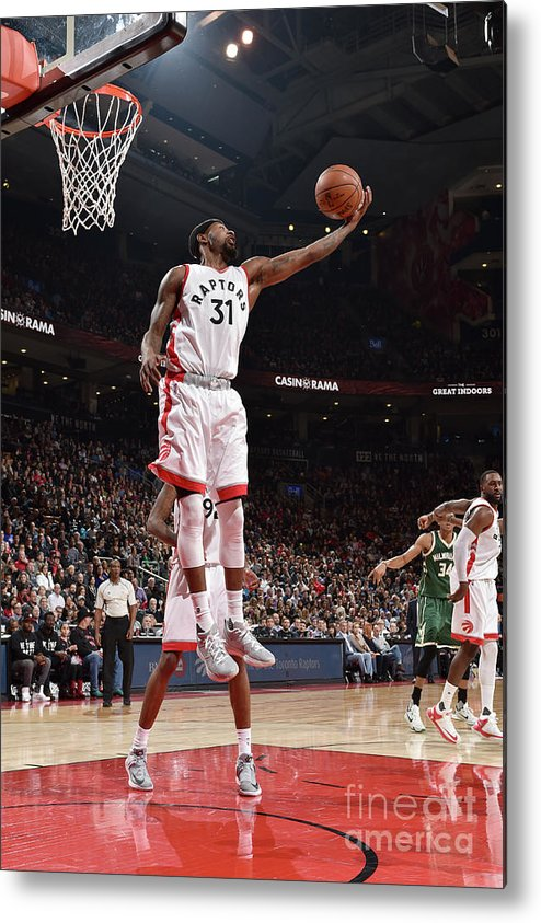 Nba Pro Basketball Metal Print featuring the photograph Terrence Ross by Ron Turenne