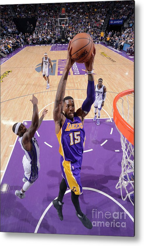Nba Pro Basketball Metal Print featuring the photograph Thomas Robinson by Rocky Widner