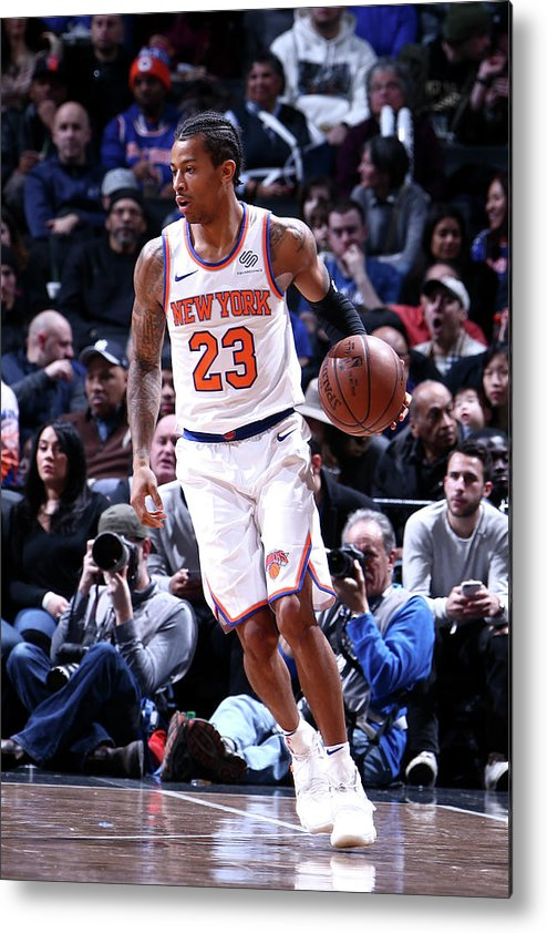 Nba Pro Basketball Metal Print featuring the photograph Trey Burke by Nathaniel S. Butler