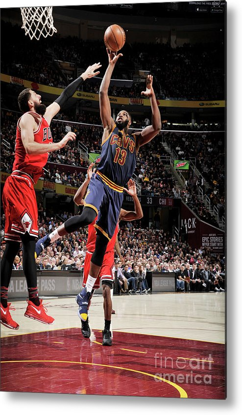 Nba Pro Basketball Metal Print featuring the photograph Tristan Thompson by David Liam Kyle