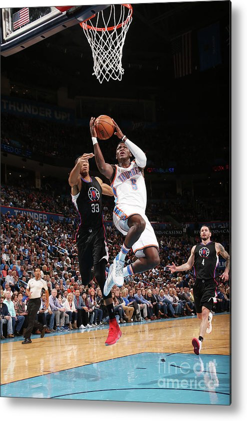Nba Pro Basketball Metal Print featuring the photograph Victor Oladipo by Layne Murdoch