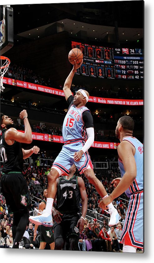 Atlanta Metal Print featuring the photograph Vince Carter by Jasear Thompson
