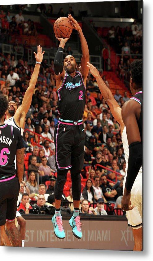 Nba Pro Basketball Metal Print featuring the photograph Wayne Ellington by Oscar Baldizon
