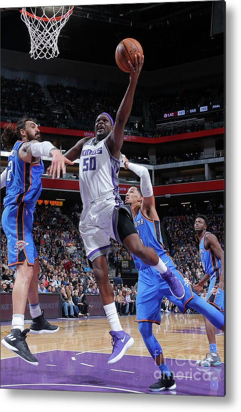 Nba Pro Basketball Metal Print featuring the photograph Zach Randolph by Rocky Widner