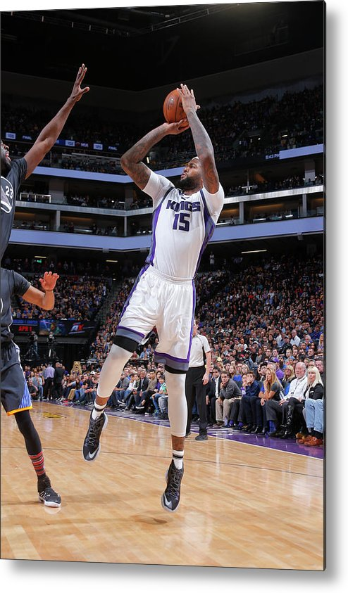 Nba Pro Basketball Metal Print featuring the photograph Demarcus Cousins by Rocky Widner