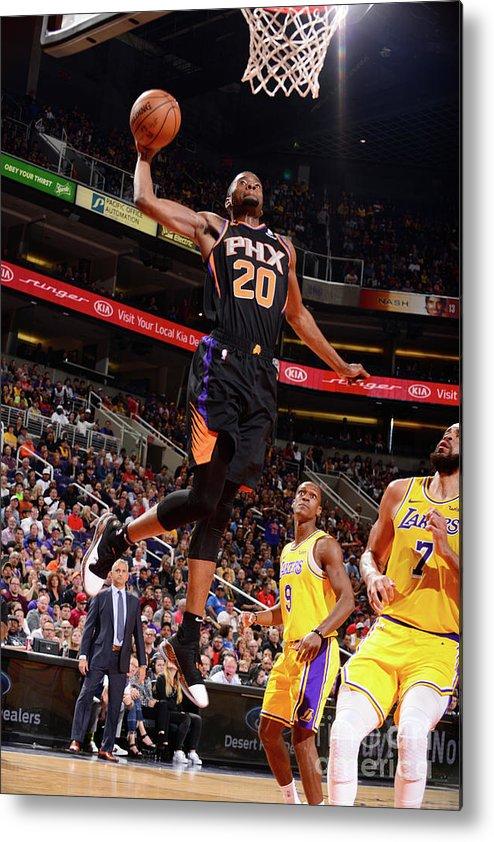 Nba Pro Basketball Metal Print featuring the photograph Josh Jackson by Barry Gossage