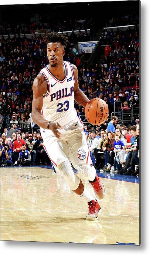 Nba Pro Basketball Metal Print featuring the photograph Jimmy Butler by Jesse D. Garrabrant
