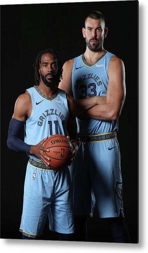Media Day Metal Print featuring the photograph Mike Conley by Joe Murphy
