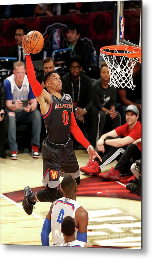 Event Metal Print featuring the photograph Russell Westbrook by Layne Murdoch