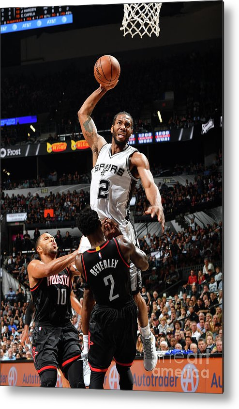 Playoffs Metal Print featuring the photograph Kawhi Leonard by Jesse D. Garrabrant