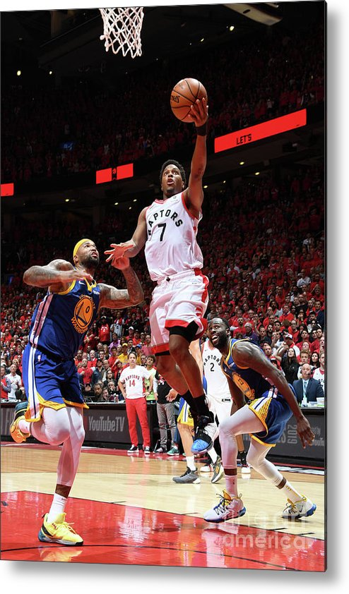 Playoffs Metal Print featuring the photograph Kyle Lowry by Andrew D. Bernstein