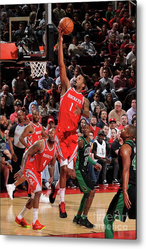 Nba Pro Basketball Metal Print featuring the photograph Trevor Ariza by Bill Baptist