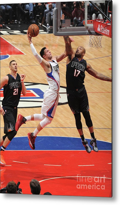 Nba Pro Basketball Metal Print featuring the photograph Austin Rivers by Andrew D. Bernstein