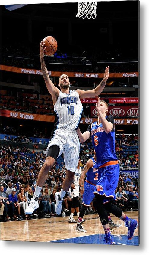 Nba Pro Basketball Metal Print featuring the photograph Evan Fournier by Fernando Medina