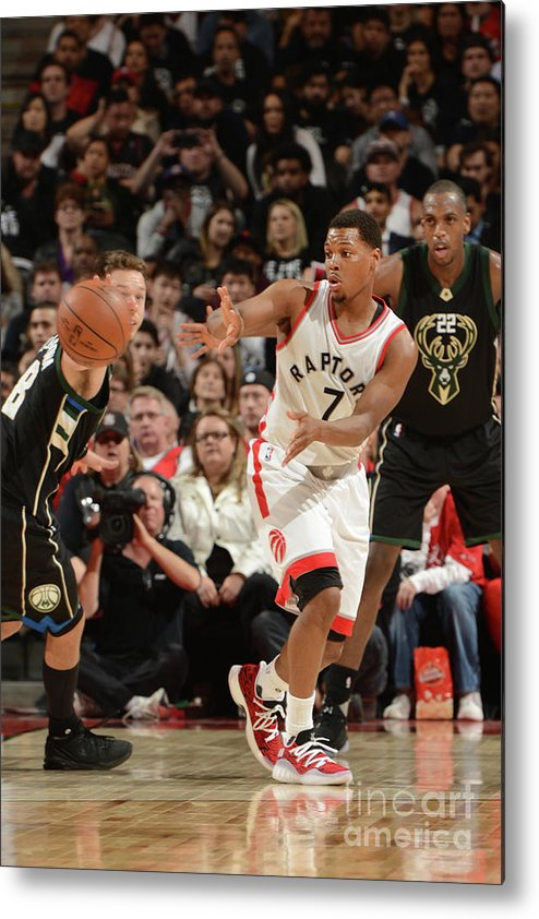Playoffs Metal Print featuring the photograph Kyle Lowry by Ron Turenne