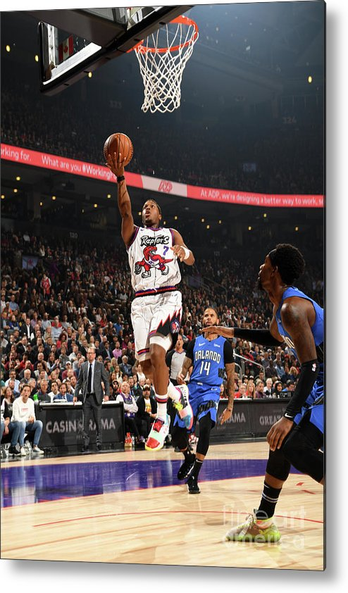 Nba Pro Basketball Metal Print featuring the photograph Kyle Lowry by Ron Turenne