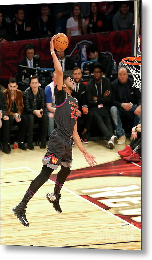 Event Metal Print featuring the photograph Anthony Davis by Layne Murdoch