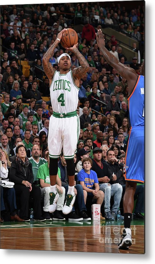 Nba Pro Basketball Metal Print featuring the photograph Isaiah Thomas by Brian Babineau
