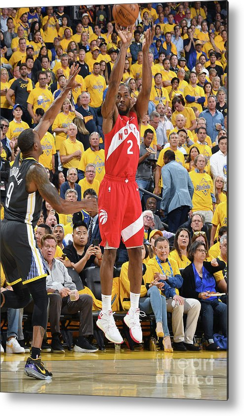 Playoffs Metal Print featuring the photograph Kawhi Leonard by Andrew D. Bernstein