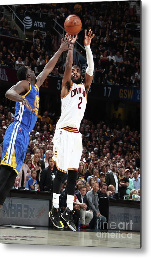 Playoffs Metal Print featuring the photograph Kyrie Irving by Nathaniel S. Butler