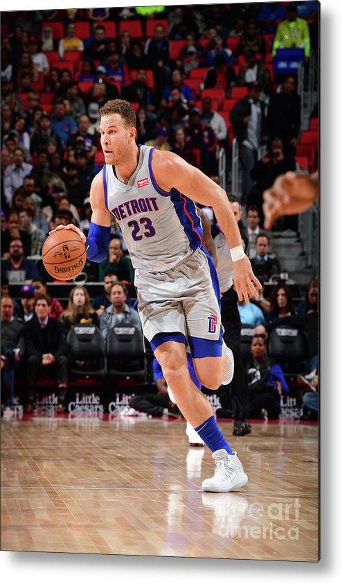 Sports Ball Metal Print featuring the photograph Blake Griffin by Chris Schwegler