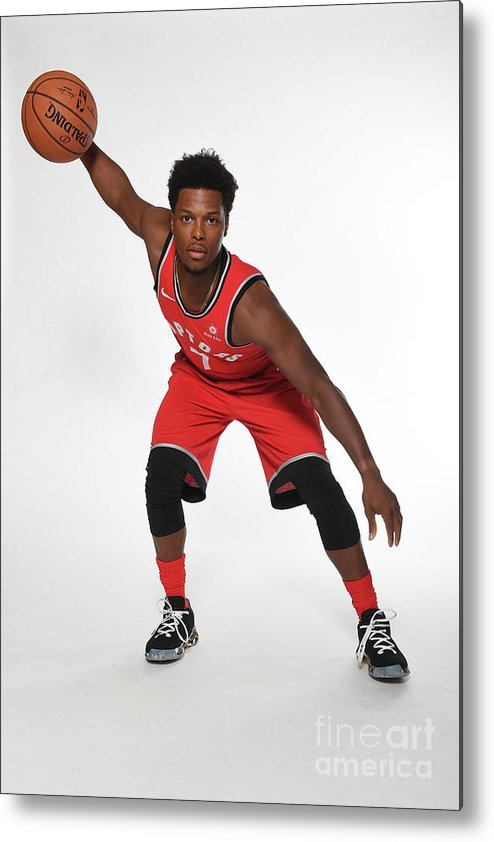 Media Day Metal Print featuring the photograph Kyle Lowry by Ron Turenne