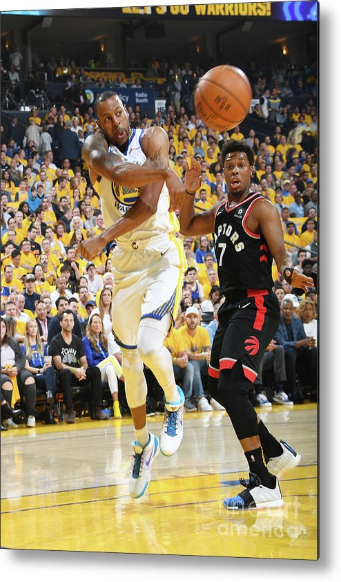 Playoffs Metal Print featuring the photograph Andre Iguodala by Andrew D. Bernstein