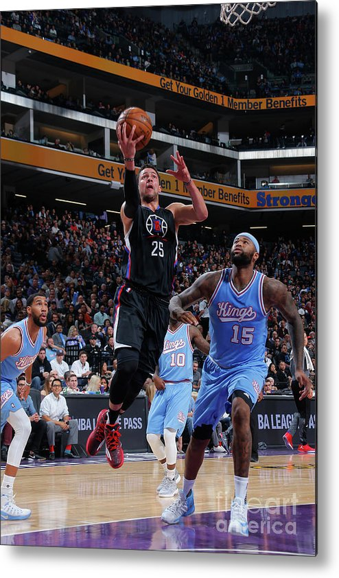 Nba Pro Basketball Metal Print featuring the photograph Austin Rivers by Rocky Widner