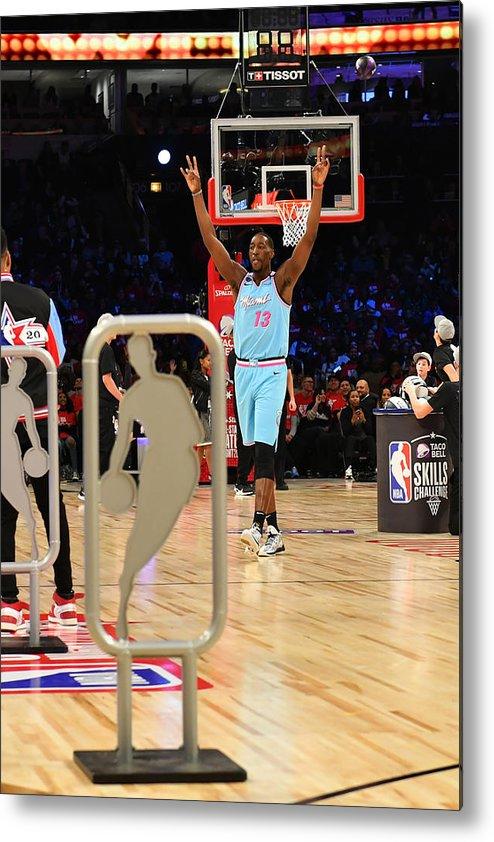 Nba Pro Basketball Metal Print featuring the photograph Bam Adebayo by Jesse D. Garrabrant