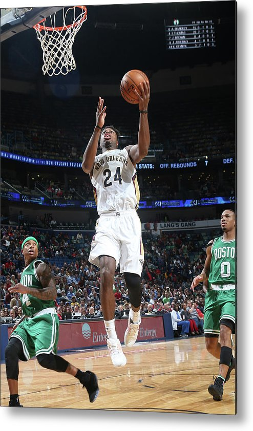 Smoothie King Center Metal Print featuring the photograph Buddy Hield by Layne Murdoch