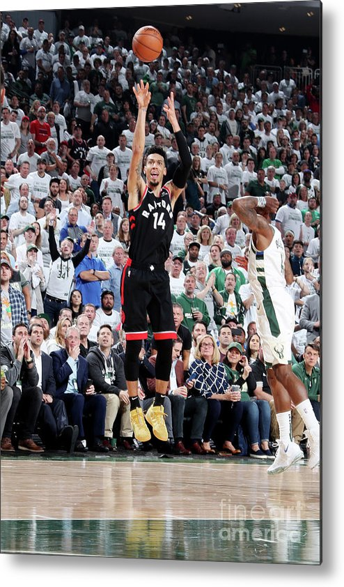 Playoffs Metal Print featuring the photograph Danny Green by Nathaniel S. Butler