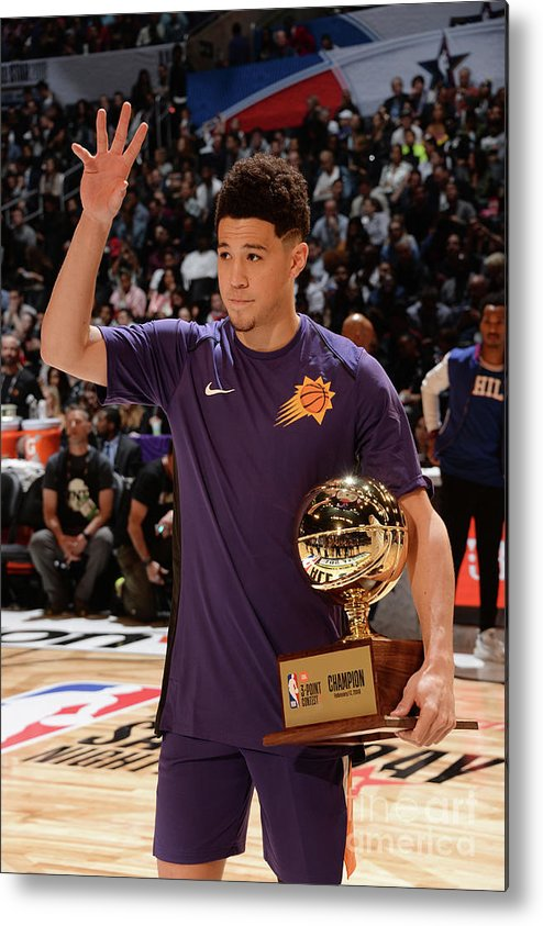Event Metal Print featuring the photograph Devin Booker by Andrew D. Bernstein