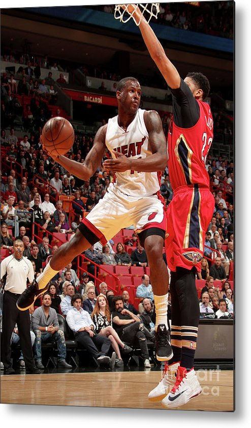 Nba Pro Basketball Metal Print featuring the photograph Dion Waiters by Issac Baldizon