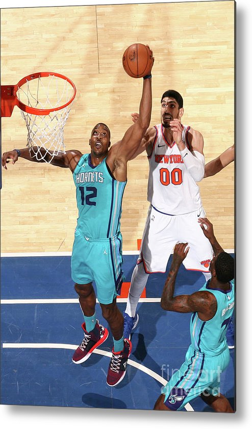 Nba Pro Basketball Metal Print featuring the photograph Dwight Howard by Nathaniel S. Butler