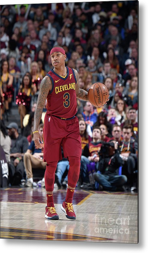 Nba Pro Basketball Metal Print featuring the photograph Isaiah Thomas by David Liam Kyle