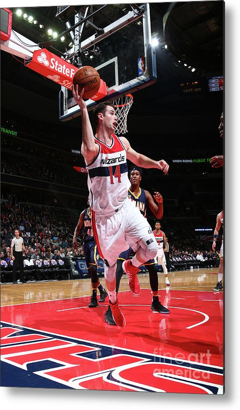 Nba Pro Basketball Metal Print featuring the photograph Jason Smith by Ned Dishman