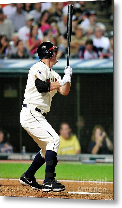 People Metal Print featuring the photograph Jim Thome by Jason Miller