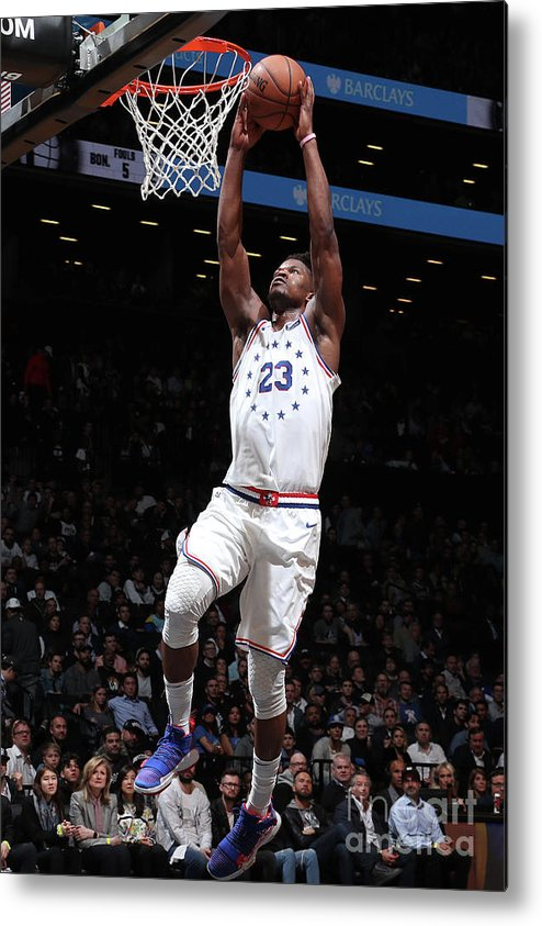 Playoffs Metal Print featuring the photograph Jimmy Butler by Nathaniel S. Butler