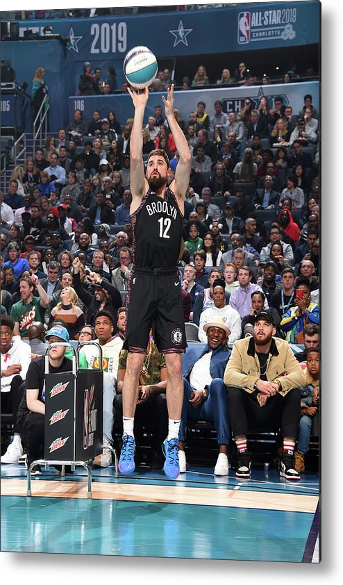 Nba Pro Basketball Metal Print featuring the photograph Joe Harris by Andrew D. Bernstein
